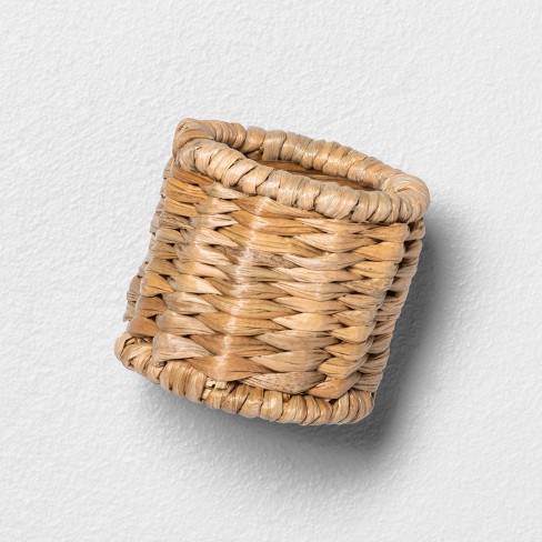 4pk Woven Napkin Rings - Hearth & Hand™ with Magnolia - image 1 of 3