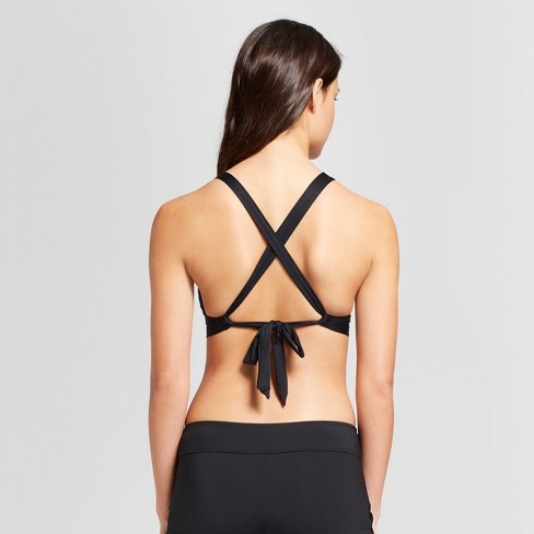 052c314ffd7 Women s Grommet Bralette Bikini Top - Black - XS - Mossimo™   Target