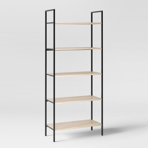 72 Loring 5 Shelf Ladder Bookcase