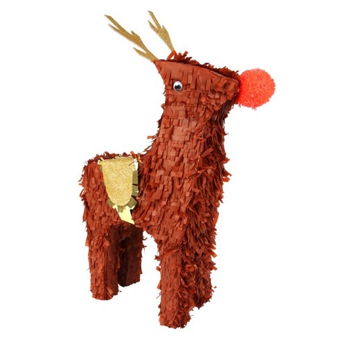 Meri Meri - Reindeer Pinata - Party Decorations and Accessories - Christmas - 1ct - image 1 of 2