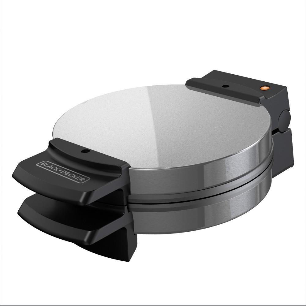 Black+decker Belgian Waffle Maker – Stainless Steel WMB505, Silver/Black 14076861