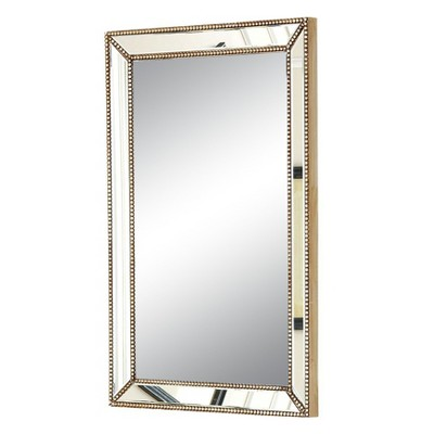 Rectangle Adora Decorative Wall Mirror Gold - Abbyson Living