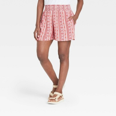 Women's Smocked Waist Pull-On Shorts - Knox Rose™