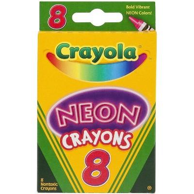 Crayola Neon Crayons 8/Pack 506352
