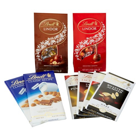 Lindt Nuts Over Chocolate Gift Collection - image 1 of 1
