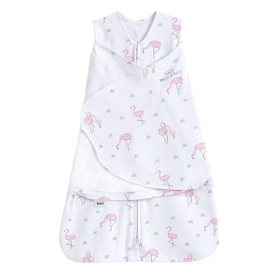 HALO Sleepsack 100% Cotton Swaddle - Flamingos S