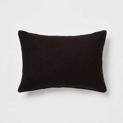 Oblong Boucle Color Blocked Decorative Throw Pillow - Threshold™