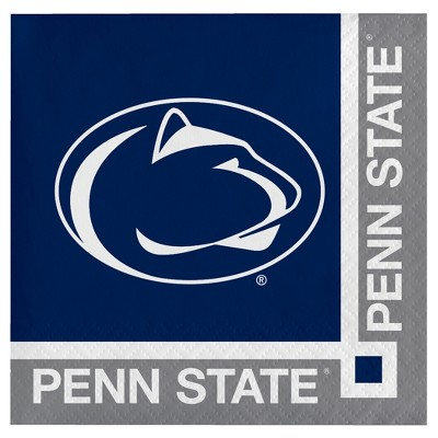 20ct Penn State Nittany Lions Cocktail Beverage Napkins - NCAA