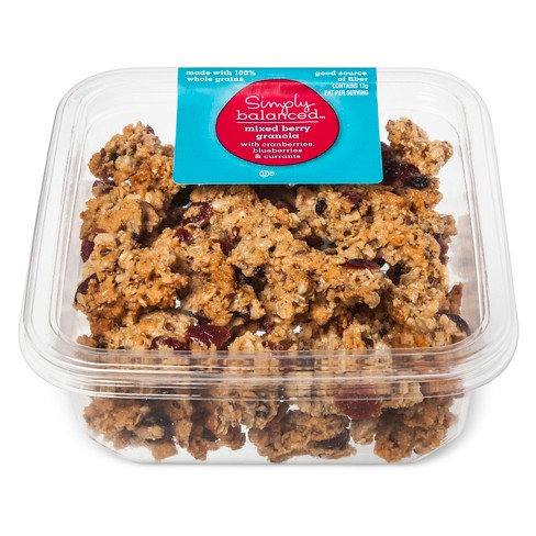 Mixed Berry Crunch Granola - 9.2oz - Simply Balanced™ - image 1 of 1