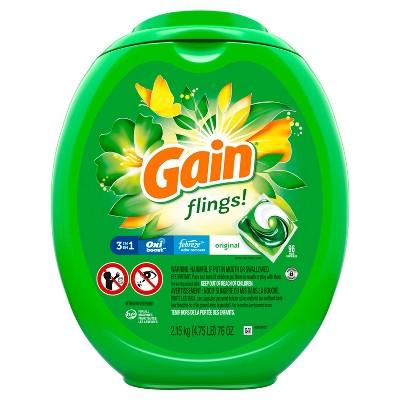 Gain flings! Original Laundry Detergents - 96ct