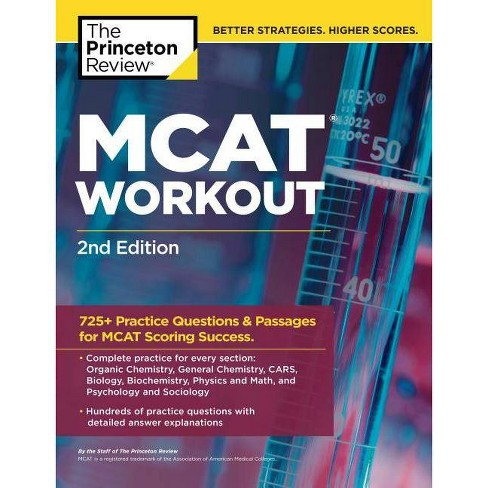 MCAT Workout, 2nd Edition - (Graduate School Test Preparation)by The  Princeton Review (Paperback)
