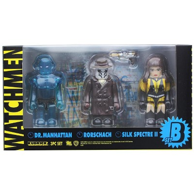 Medicom Watchmen Kubrick 3 Piece Figure Set B