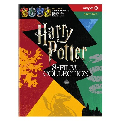 Harry Potter 8-Film Collection with Hogwarts Patches (DVD)