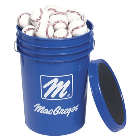MacGregor Bucket of 5 Dozen 79P Baseballs-White - image 1 of 1