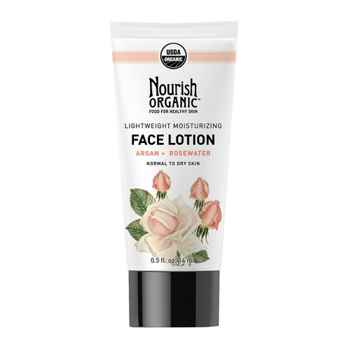 Nourish Organic Lightweight Moisturizing Face Lotion 1.7 oz - image 1 of 1