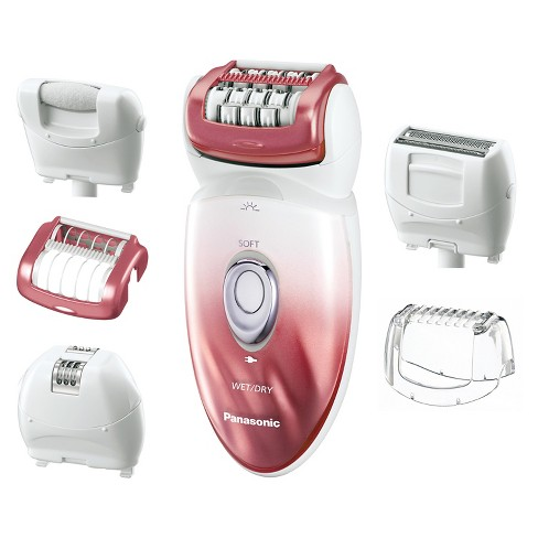 Panasonic Wet & Dry Women's 6pc Rechargeable Electric Epilator/Shaver/Pedicure Buffer Combo - ES-ED90-P - image 1 of 5