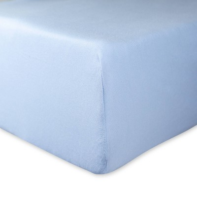 Honest Baby Organic Cotton Fitted Crib Sheet - Kentucky Blue