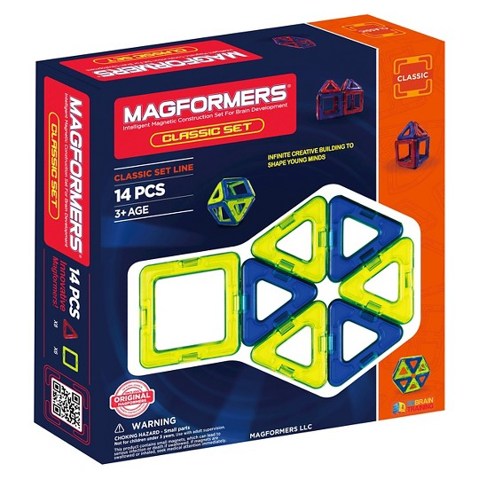 Magformers 14 Piece Classic Set image number null