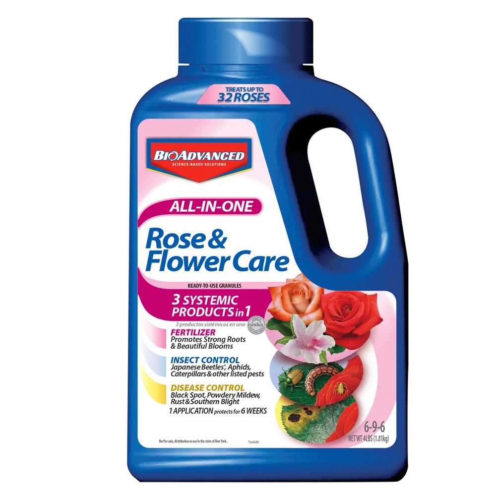 Image of 4lb BioAdvanced All-In-One Rose Care Granules