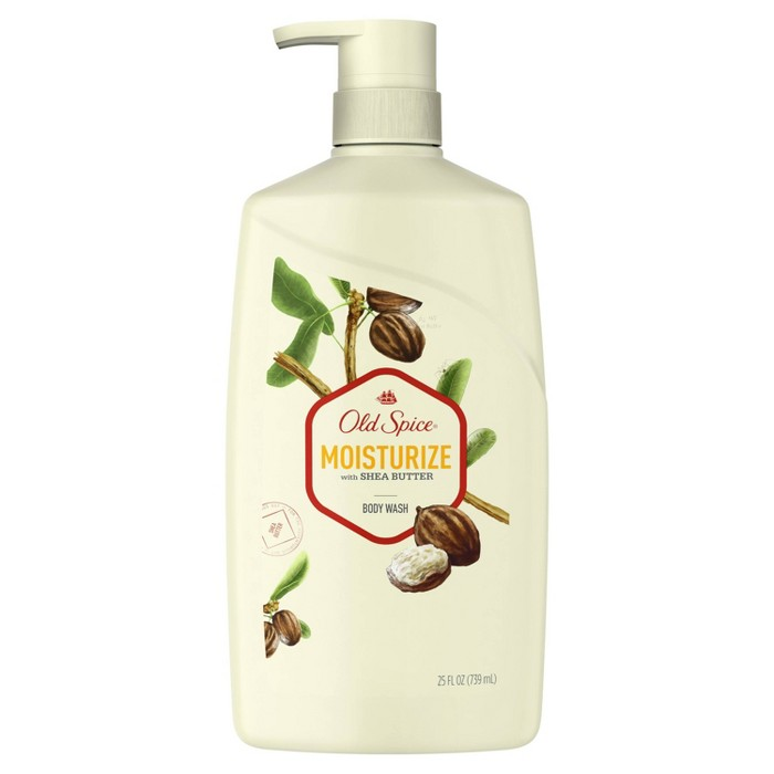 Old Spice Moisturize With Shea Butter Body Wash - 25 Fl Oz : Target