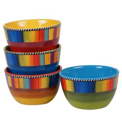 22oz 4pk Earthenware Sierra Ice Cream Bowls - Certified International