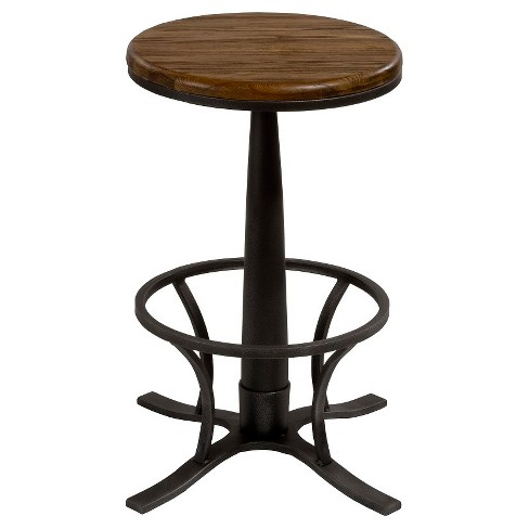 "Rivage Backless 30"" Barstool Metal/Brown - Hillsdale Furniture - image 1 of 1"