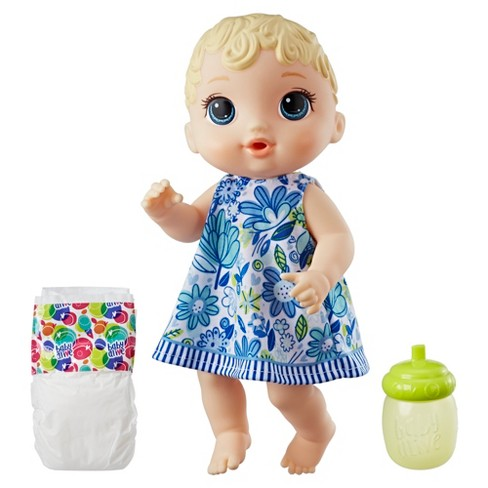 Baby Alive Lil' Sips Blonde Hair Baby Doll - image 1 of 4