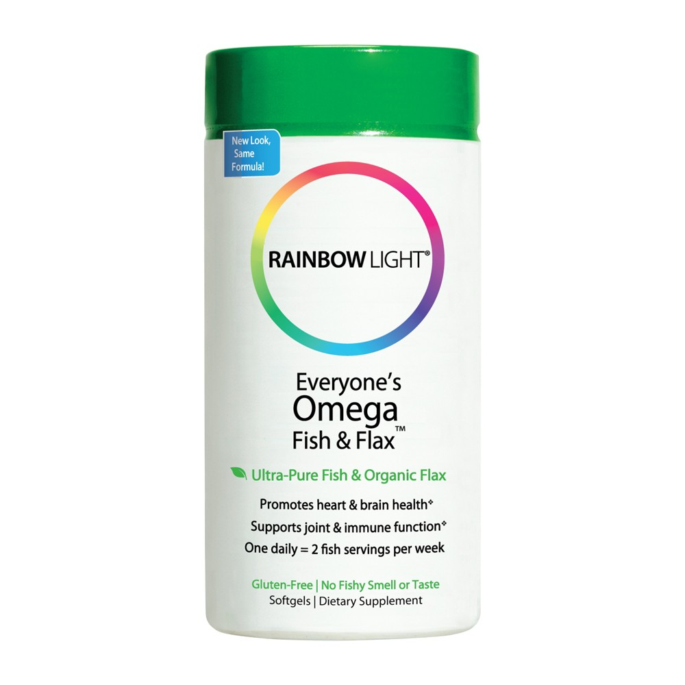 Rainbow Light Omega Brain Performance Dietary Supplement Softgels - 60ct