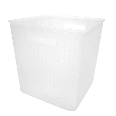 Y-weave basket bin - 11  - Clear - Room Essentials™