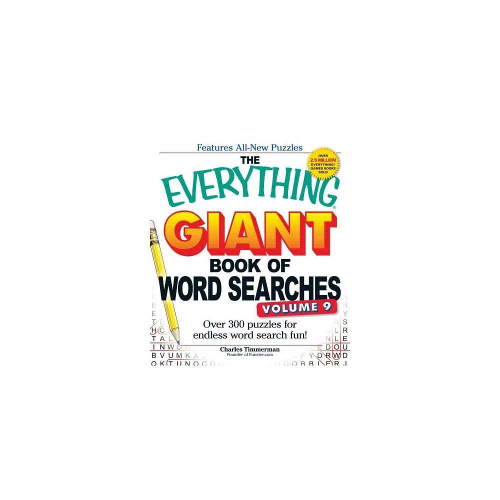 Everything Giant Book of Word Searches : Over 300 puzzles for endless word search fun! (Paperback)