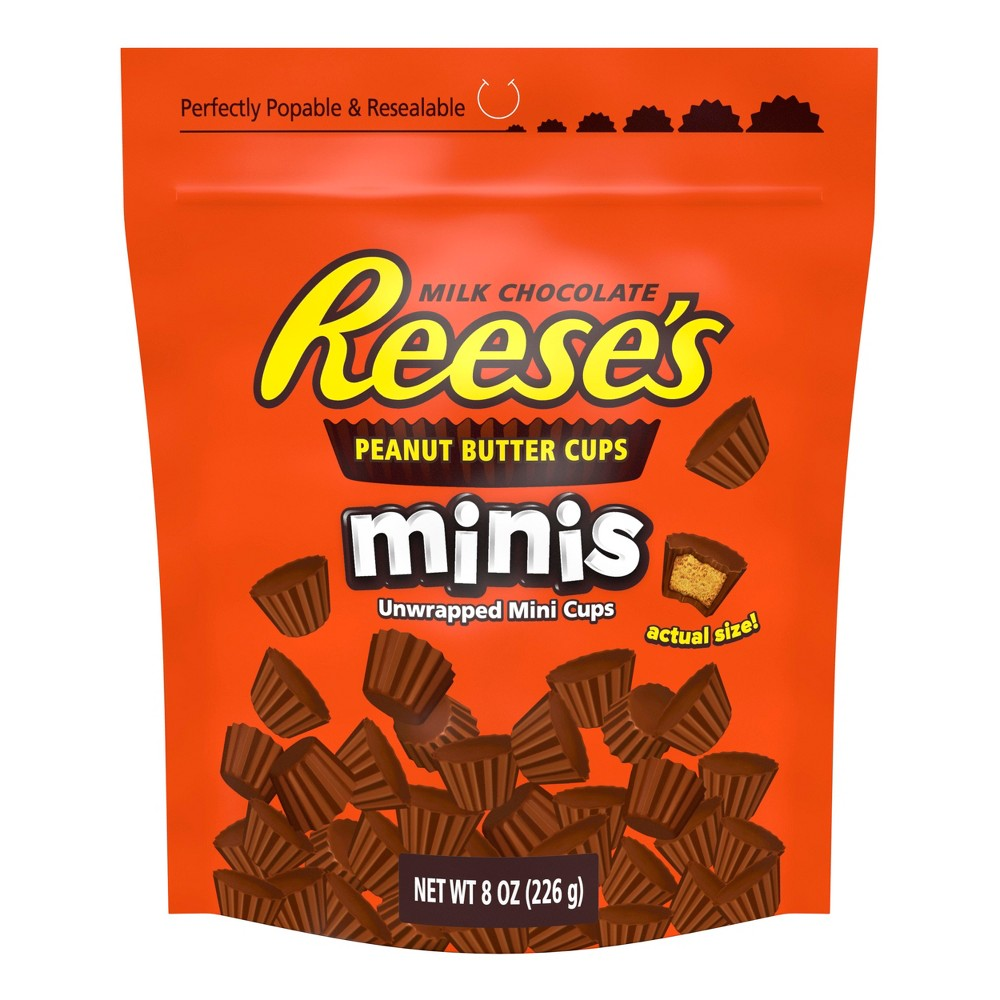 Reese's Peanut Butter Cups Minis - 8oz/4ct