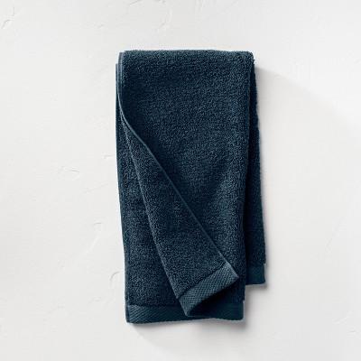 Organic Hand Towel Navy - Casaluna™