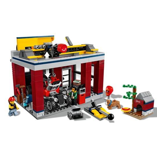 LEGO City Tuning Workshop Toy Car Garage Cool Building Set 60258 image number null
