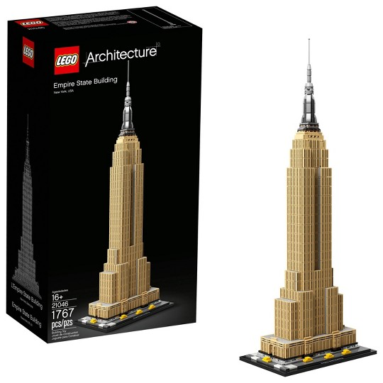 LEGO Architecture Empire State Building 21046 Model Skyscraper Building Kit image number null