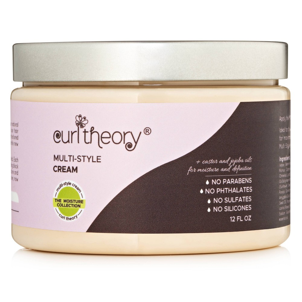Image of Curl Theory Multi-Style Hair Cream - 12 fl oz