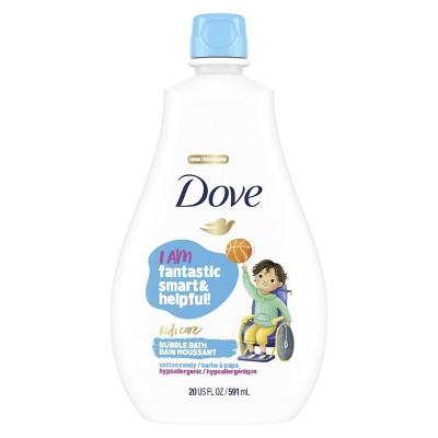 Dove Kids Care Hypoallergenic Bubble Bath Cotton Candy - 20 fl oz