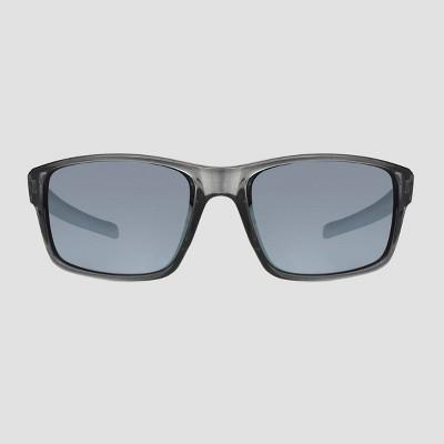 Men's Rectangle Driving Aviator Sunglasses - Foster Grant Black