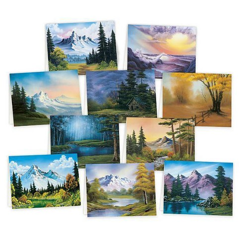 Bob Ross Notecards -  (Stationery) - image 1 of 1