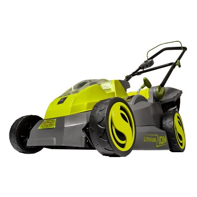 Sun Joe iON16LM-CT 40-Volt iONMAX Cordless Brushless Lawn Mower | 16-Inch | Tool Only
