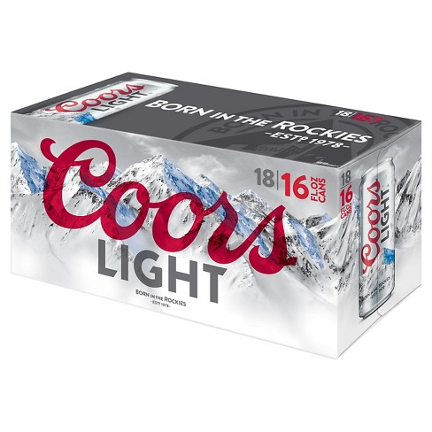 Coors Light® Beer 18pk / 16oz - Cans - image 1 of 1