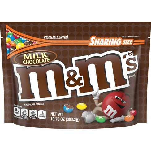 M&M's Milk Chocolate Candies - 10.7oz - Sharing Size - image 1 of 4