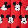 Mickey Mouse Full Cute Faces Bedding Set Red - image 3 of 3