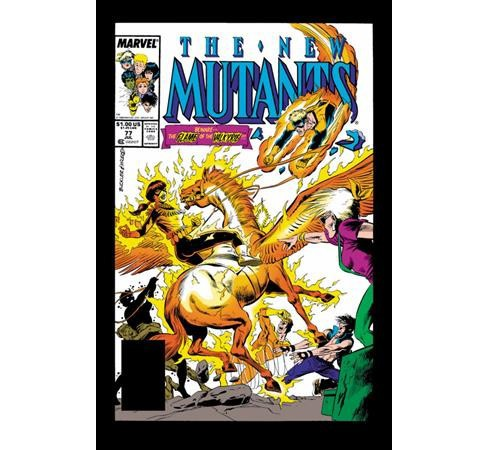 Epic Collection New Mutants 6 : Curse of the Valkyries -  (Paperback) - image 1 of 1