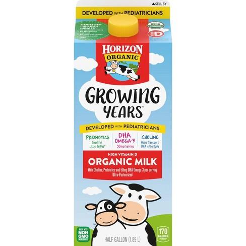 Horizon Organic Growing Years Whole Milk - 0.5gal - image 1 of 3