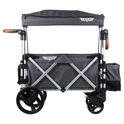 Keenz 7S Double Stroller Wagon - Gray
