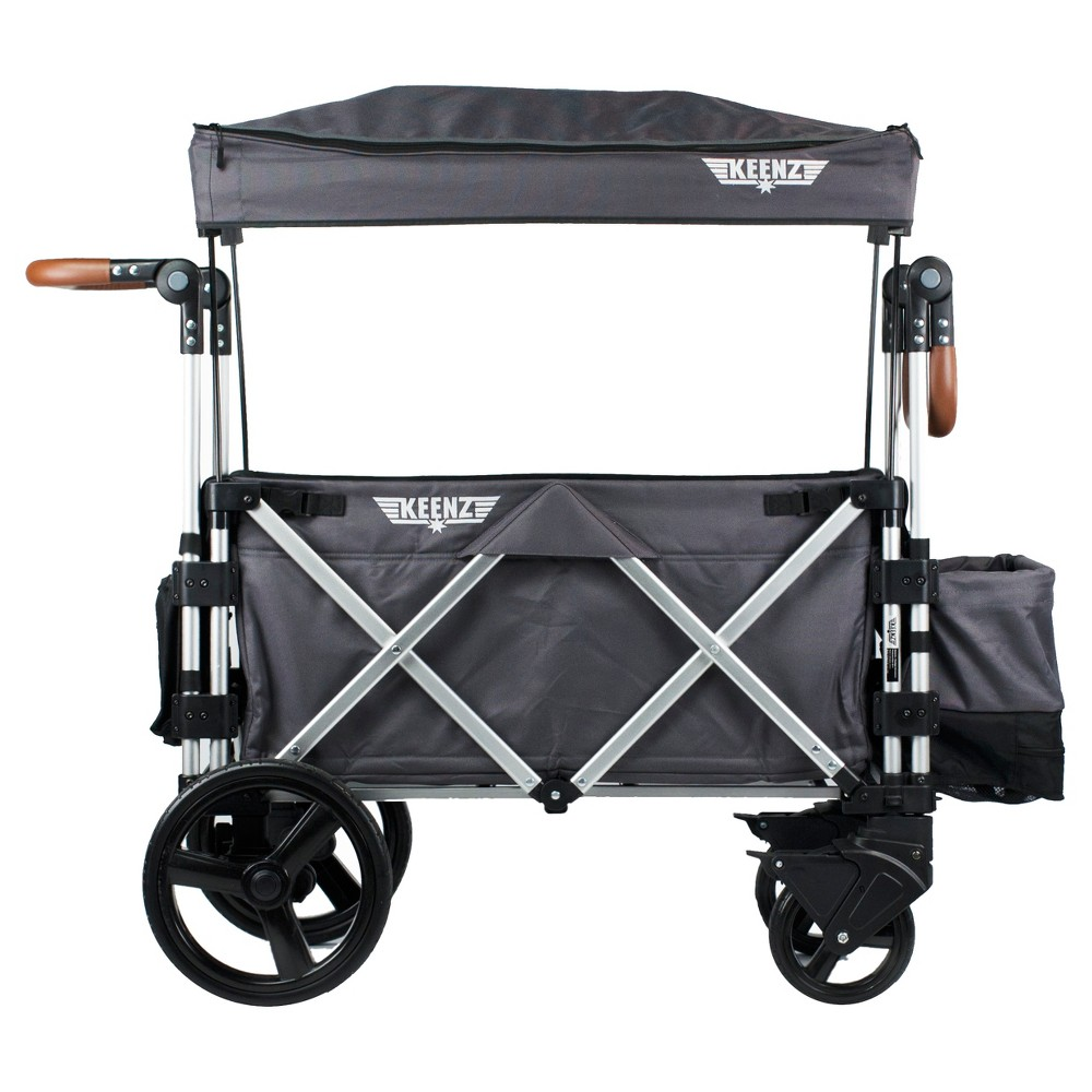 Keenz 7S Double Stroller Wagon - Gray