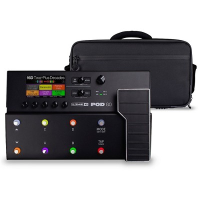 Line 6 POD Go Guitar Multi-Effects Processor With Shoulder Bag