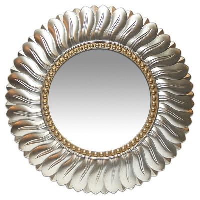 Round Marseille Decorative Wall Mirror Gray - Infinity Instruments