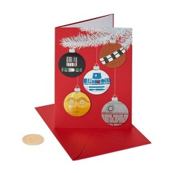 8ct Papyrus Star Wars Boxed Holiday Greeting Cards