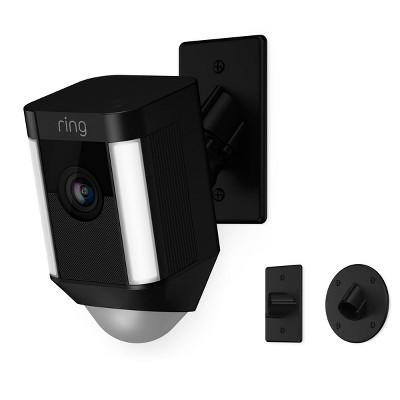 Ring Spotlight 1080p Cam Mount Wi-Fi Security Camera - Black - 8SH5P7-BEN0